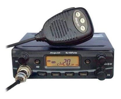 MegaJet MJ-450 Turbo - Рация Си-Би (CB) 27 МГц автомобильная