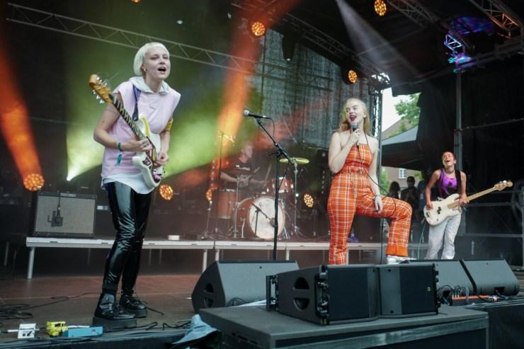 Dream Wife live auf dem lunatic Festival