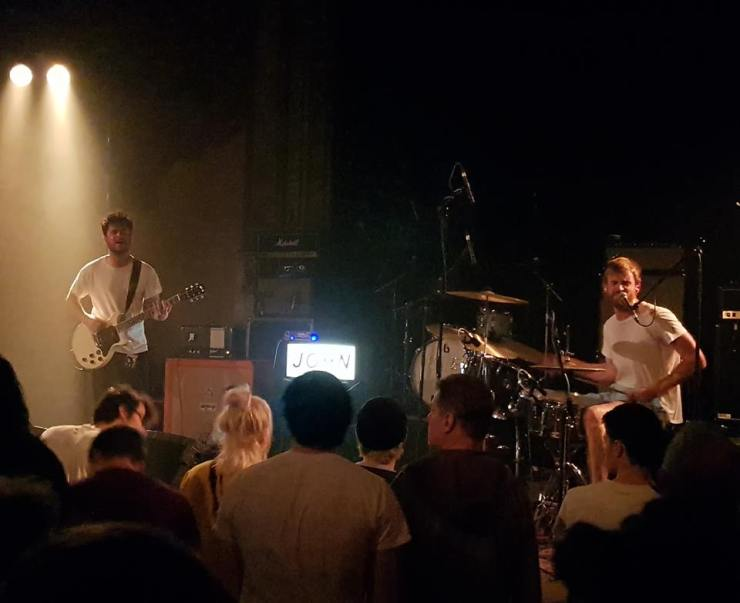 Band JOHN Vorband Idles Leipzig