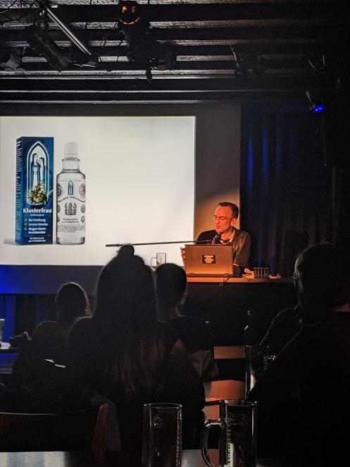 Lesung, Linus Volkmann Popsalon 2019