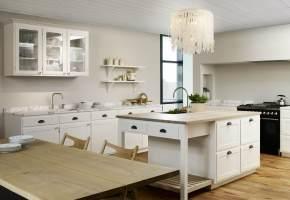 Skandinavische Landhausküche Ideen, Bilder, Tipps für die ...