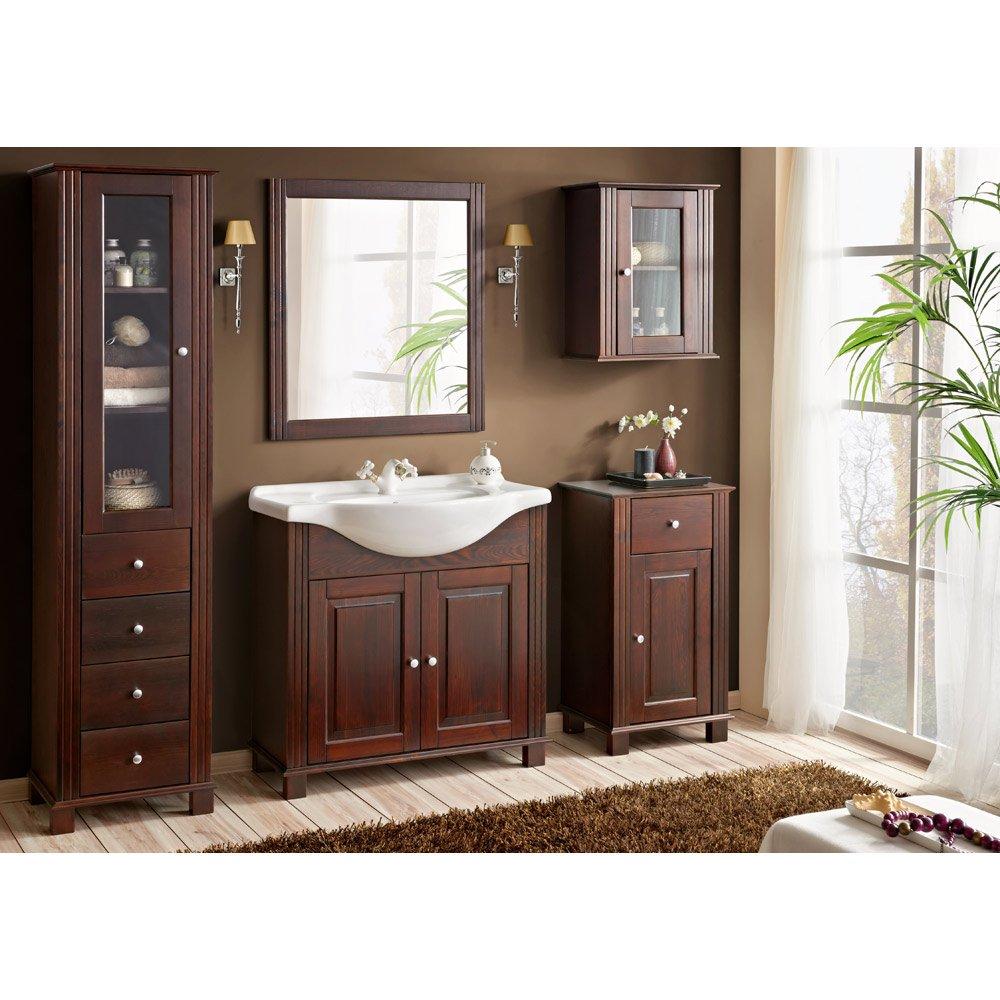 Badezimmermöbel im Landhausstil – dem Stress gekonnt entfliehen