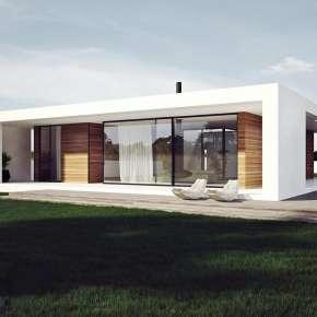 Дом со двором (Patio House)