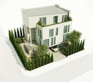 Проект городского дома в Турции