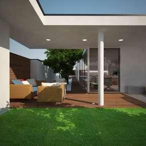 Проект дома на участке три сотки
