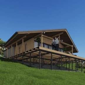 Летний дом в горах