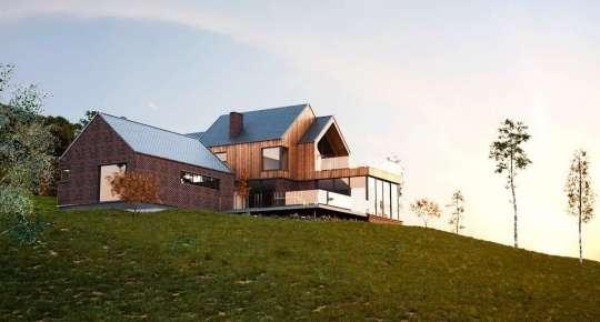 Проект частного дома Hill House