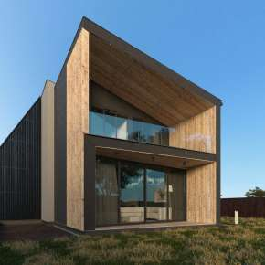 Проект небольшого частного дома