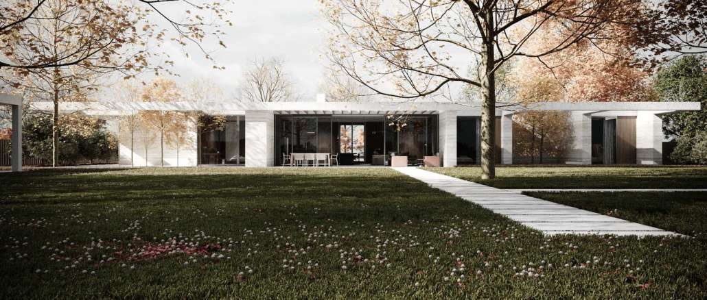 Проект дома-крепости