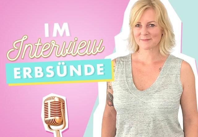 Im Interview: Makerist Designerin Erbsünde