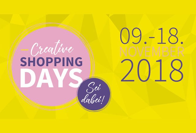 Tolle Aktion: Creative Shopping Days