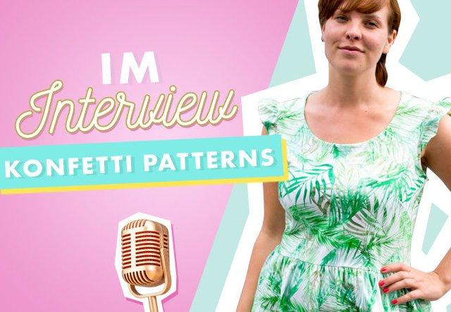 Im Interview: Makerist Designerin Konfetti Patterns