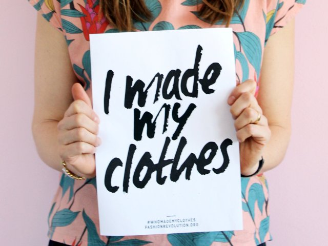Fashion Revolution Week – We Made Our Clothes