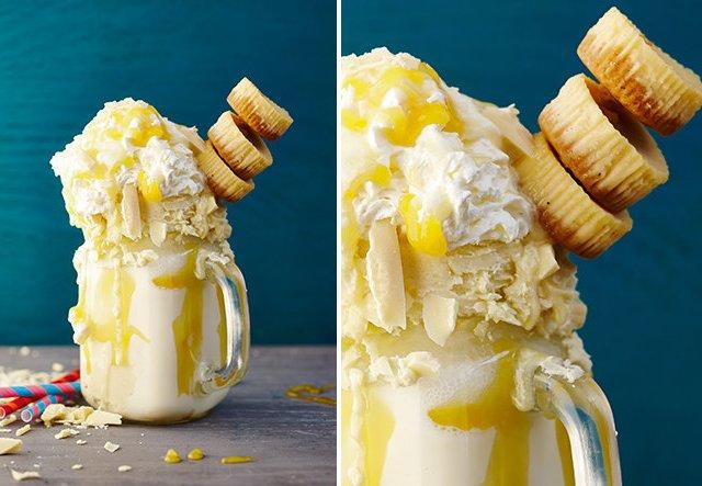 Freaky: Milchshake mit Mini-Cheesecakes!