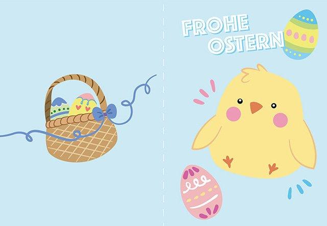 Ostergrüße: Last-Minute-Karten zum Ausdrucken!