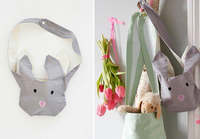 Umhängetasche für Ostern nähen!