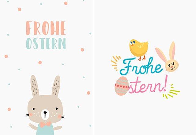 Nur für dich: Osterkarten zum Gratis-Download!