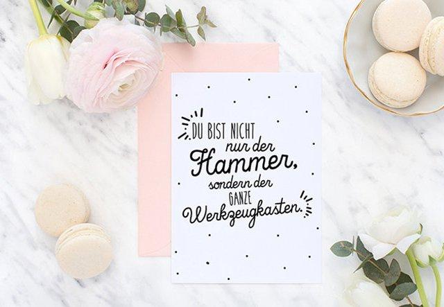 Valentinstagskarten zum Gratis-Download