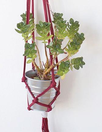 Makerist-Basteln-mit-Kindern-50-DIY-Projekte-Blumenampel