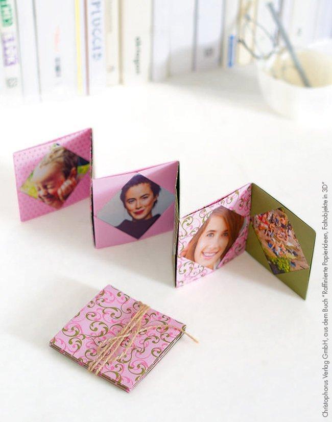 Makerist-Basteln-mit-Kindern-50-DIY-Projekte-Fotorahmen-aus-Papier-1