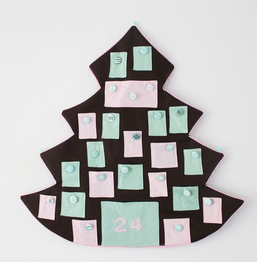 Makerist-Adventskalender-selbermachen-19-DIY-Projekte-Tannenbaumform-1