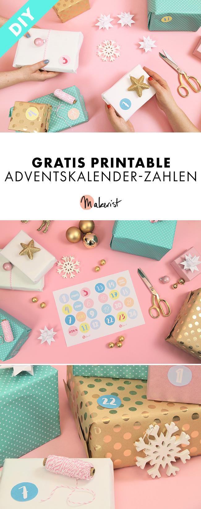 Makerist-Gratis-Printable-für-Weihnachten-Adventskalender-Zahlen-Pin-1