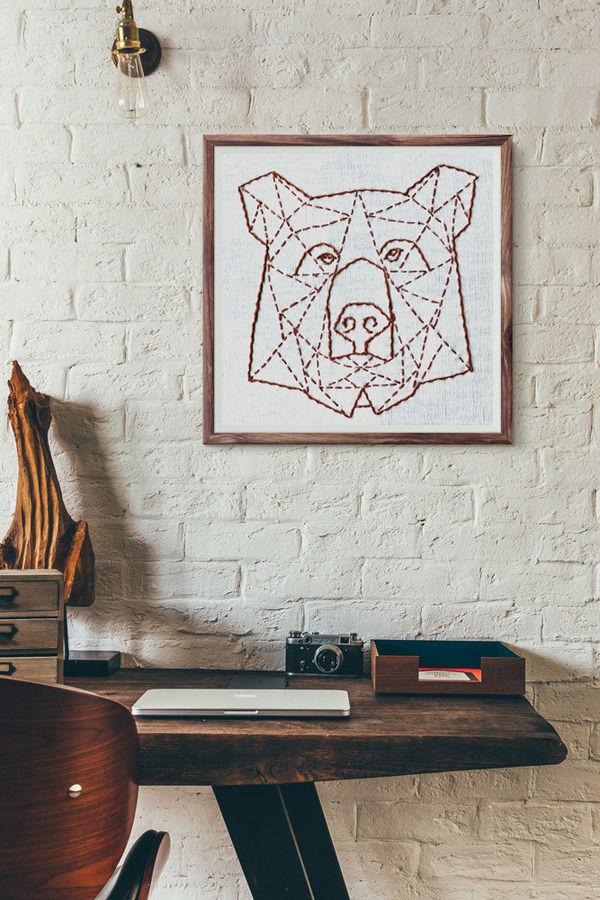 Makerist-Magazin-13-Last-Minute-DIY-Weihnachtsgeschenke-Stickanleitung-Bär