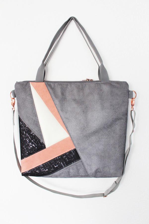 Tolle-Taschen-selber-nähen-29-Schnittmuster-mit-Anleitung-Schultertasche-Emilie-mit-geometrischer-Teilung