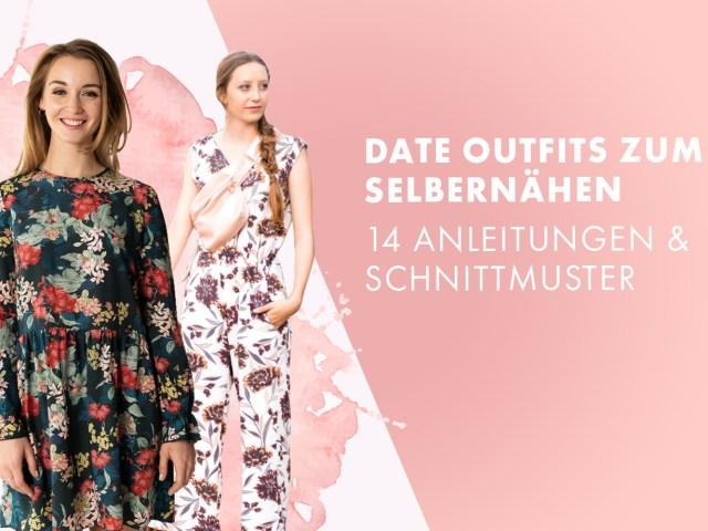 Date Outfits zum Selbernähen – 14 Anleitungen und Schnittmuster