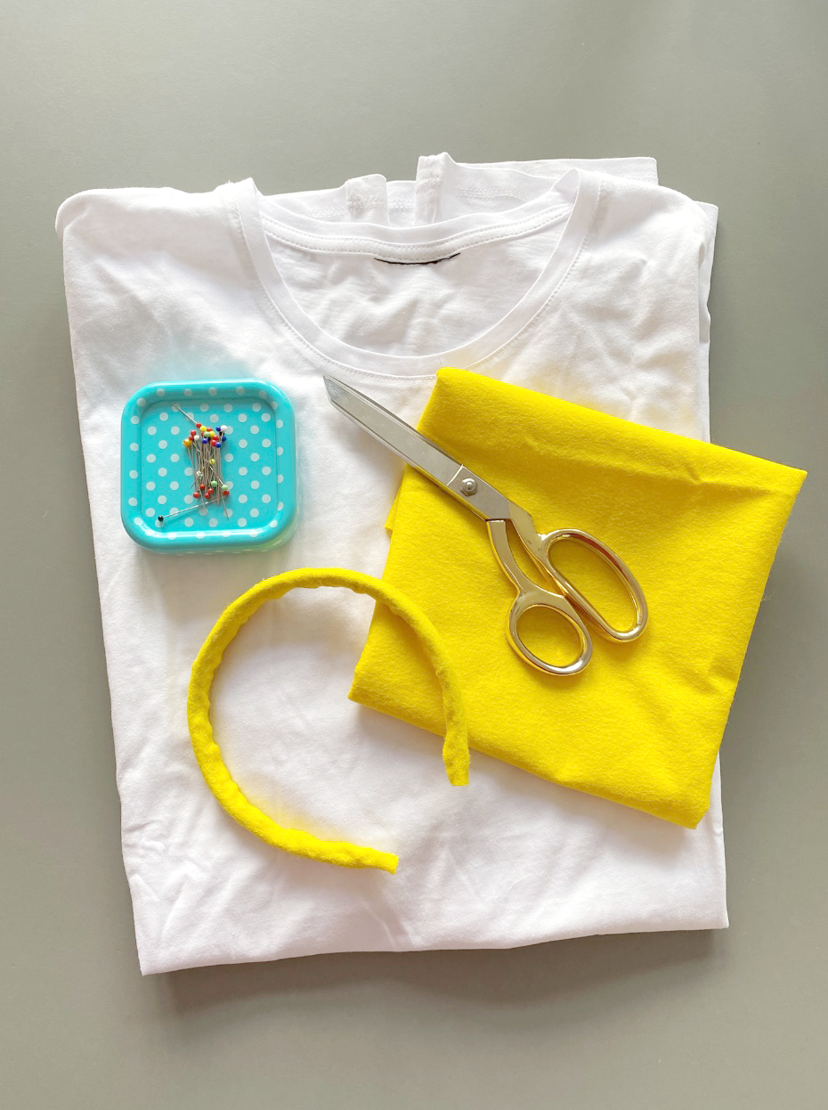 Makerist-Spiegelei-Kostüm-selber machen-DIY-Verkleidung-für-Karneval-Fasching-Halloween-und-Co-2