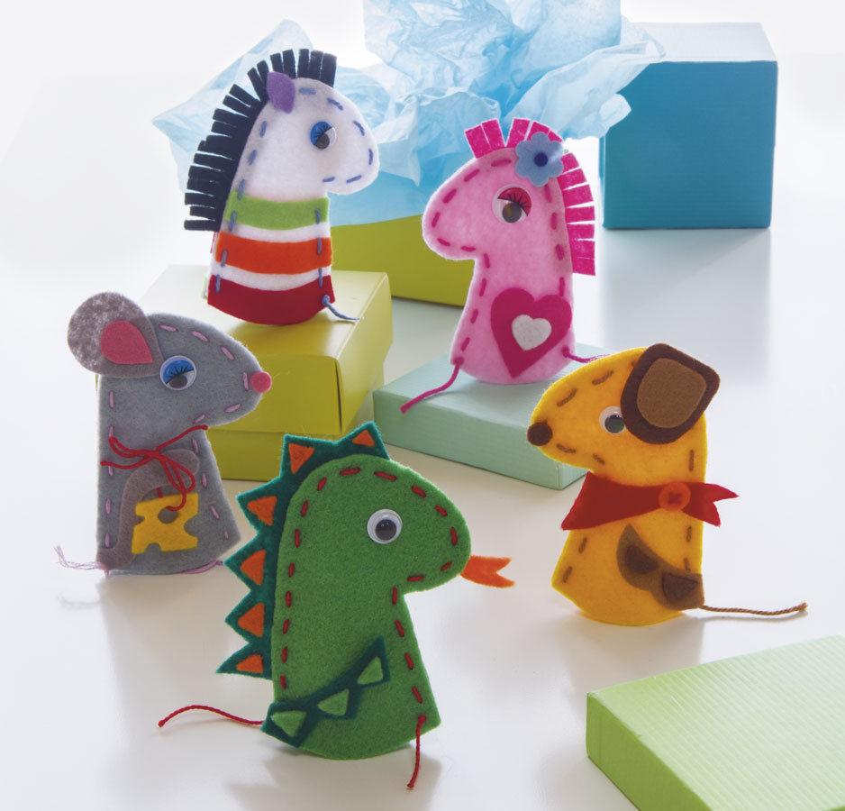 Nähen-und-Basteln-mit-Kindern-17-einfache-Projekte-für-die-Tage-Zuhause-Kleine-Fingerpuppen