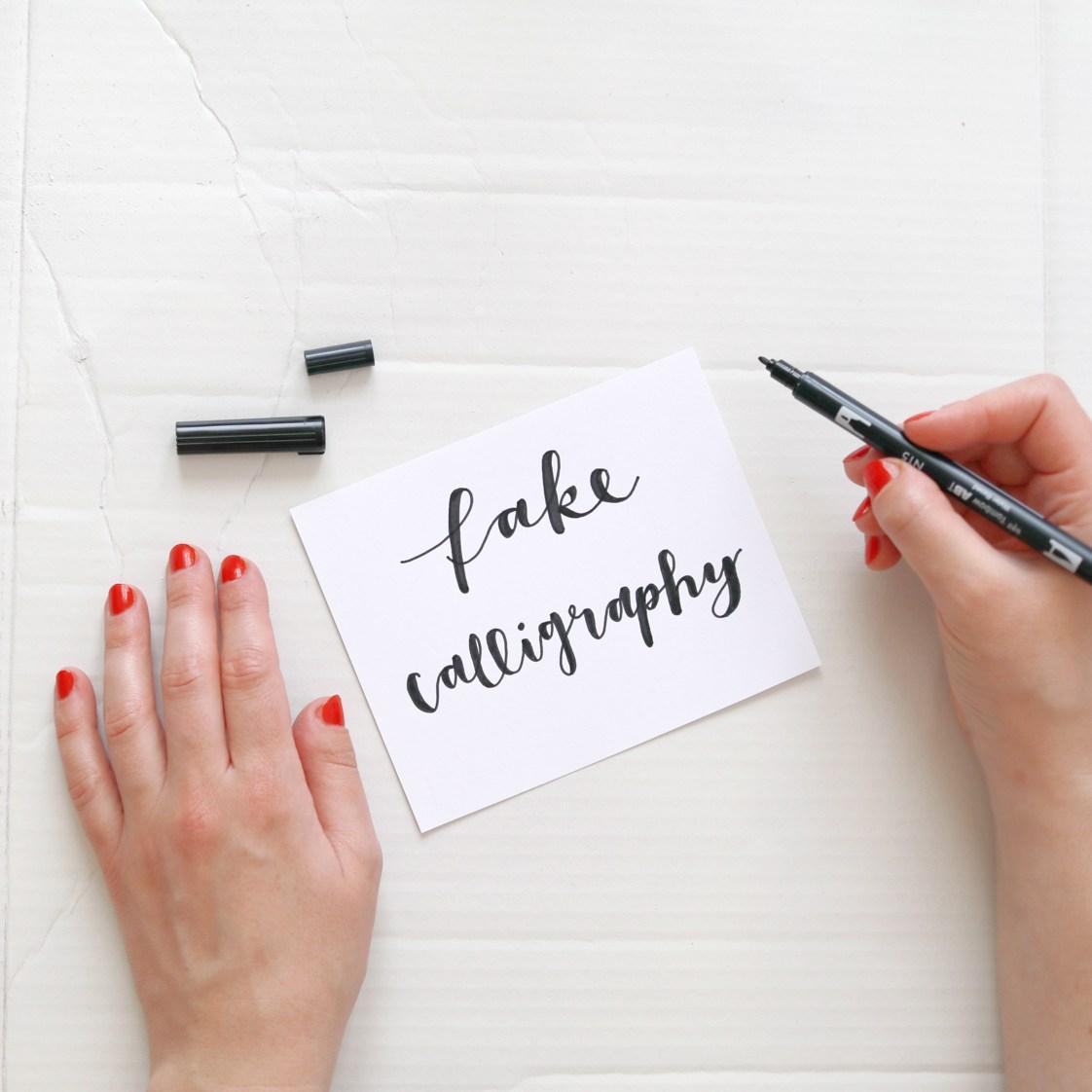 Makerist-Lettering-Basics-Stifte-Handlettering-Brush-Lettering-Fake-Calligraphy-14