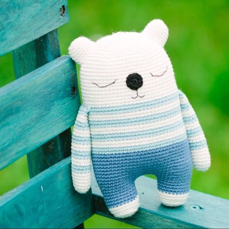 Makerist-Hase-Bär-undCo.-Unsere-17-beliebtesten-Amigurumi-Anleitungen-Amigurimi-Bär