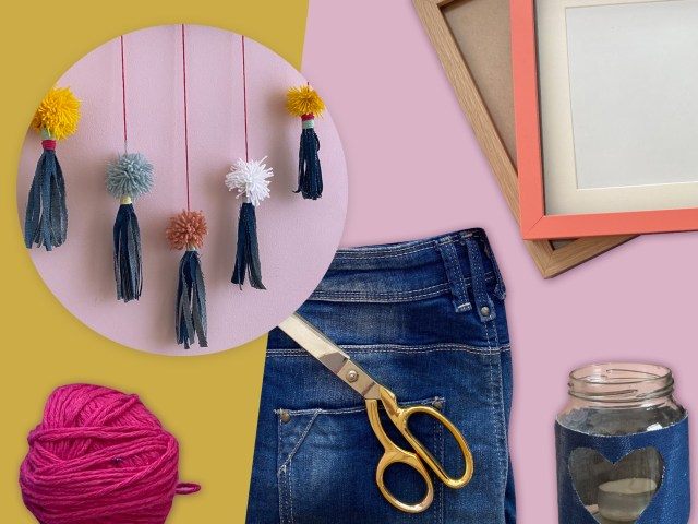 Mini-Upcycling-DIYs aus Jeans: 3 einfache Anleitungen