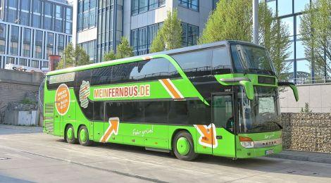 Fernbuslinien Liniennetz