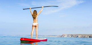 veslo na paddleboard