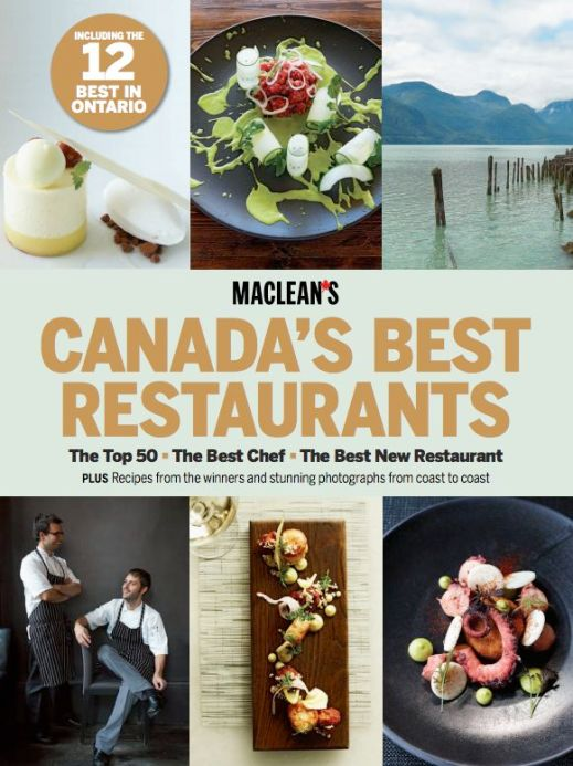 """""""Canada's Best Restaurants,"""" photography by John Cullen for Maclean's"""