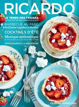 Le temps des fraises Ricardo Caroline Blanchette, directrice artistique Laura Osborne, rédactrice en chef Brigitte Coutu, éditrice