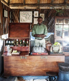 World-class hospitality © Uncharted Africa