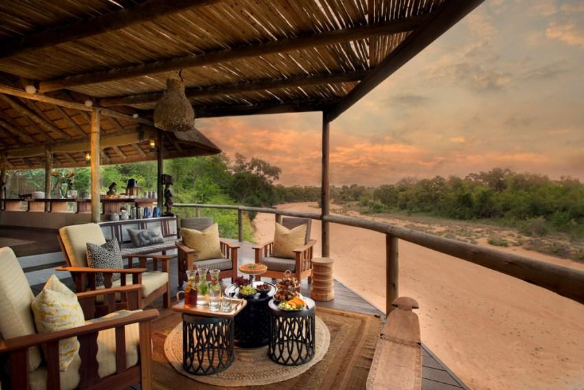View from Tanda Tula Safari Camp