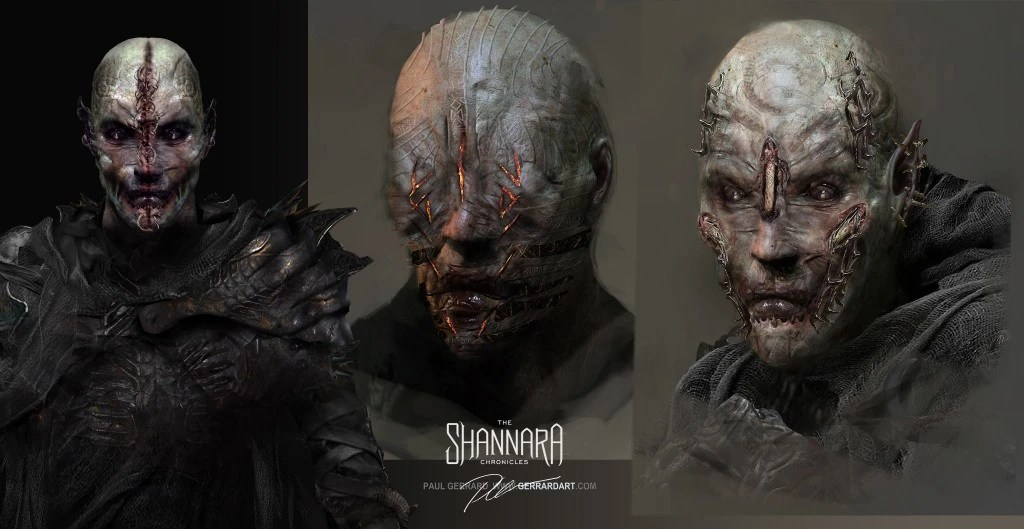 Paul Gerrard On Character Concepts For MTVs The Shannara