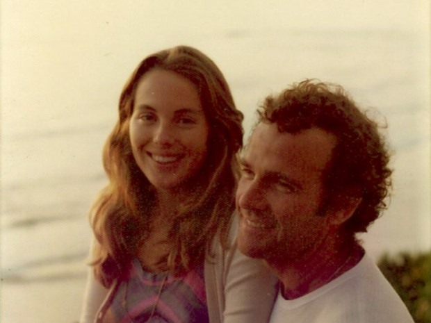 Kerrie Kavanaugh and Lou Villar shortly after they first met, in the mid-'70s.