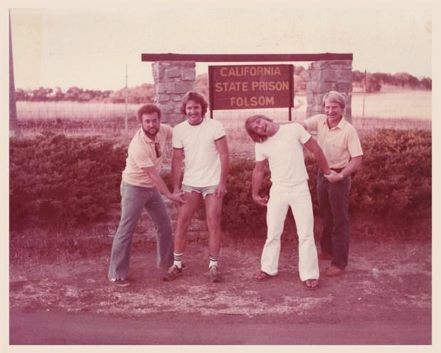 From left: FBI Special Agent Bill O'Reilly, Jim Birges, John Birges, and FBI Special Agent Bob Price. Photo: Courtesy of Bill O'Reilly