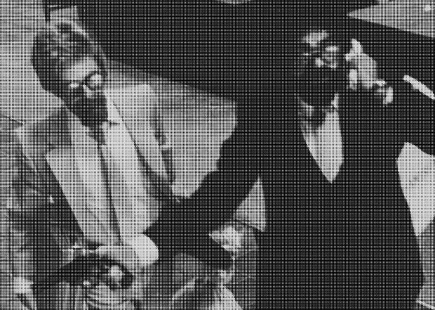 From surveillance footage captured at a Bank of America in San Diego, California, on September 23, 1980 and later used on a police handout.