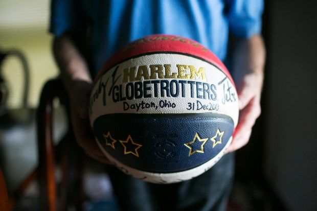 The basketball Fowlebrought to North Korea.