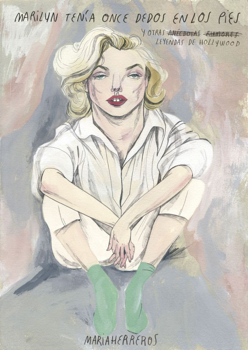Libro Marilyn tenía once dedos en los pies