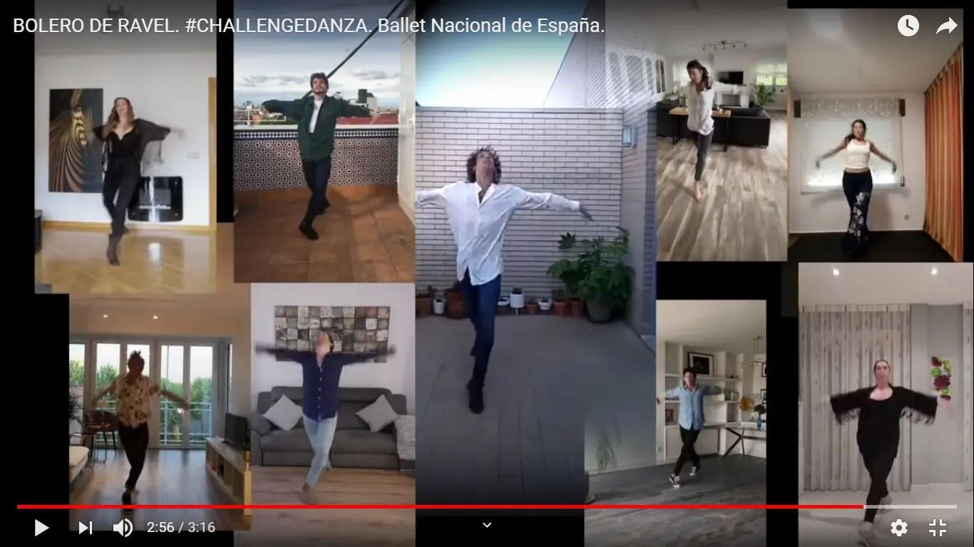 Ballet por internet