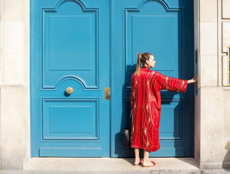 red resort wear, chinese new year, what to wear on retreat holiday wellness wardrobe