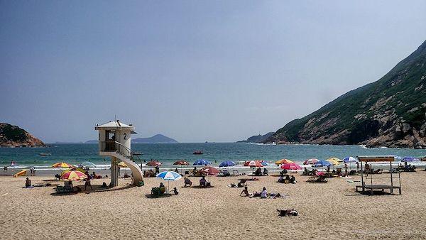 best beaches in hong kong