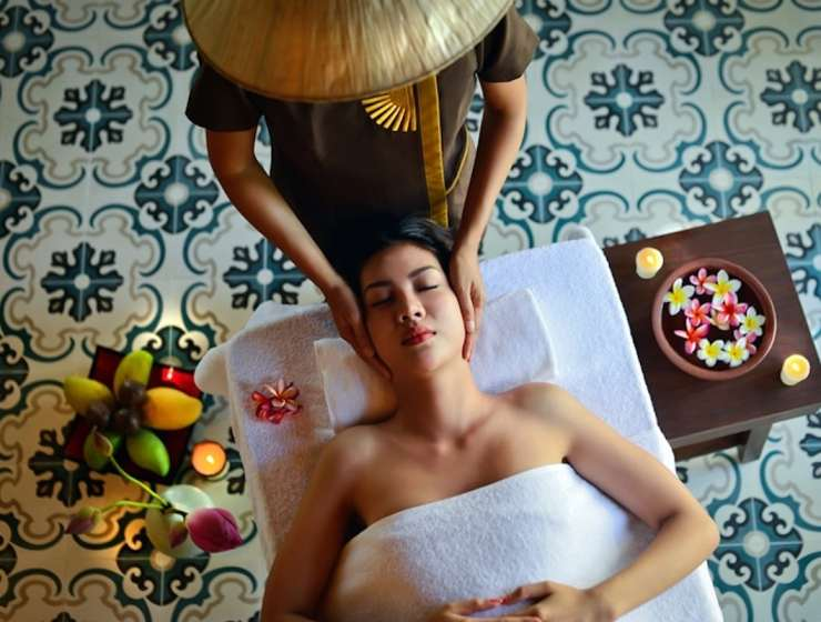luxury wellness natural spa treatments